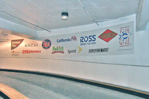 Brentwood Plaza Wall Wrap