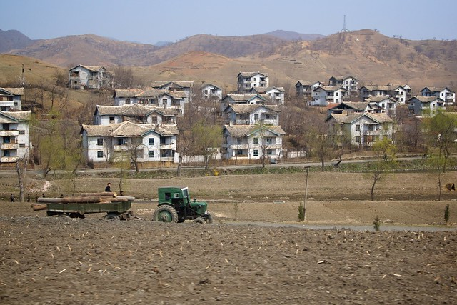 Wonsan - Hamhung Countryside North Korea