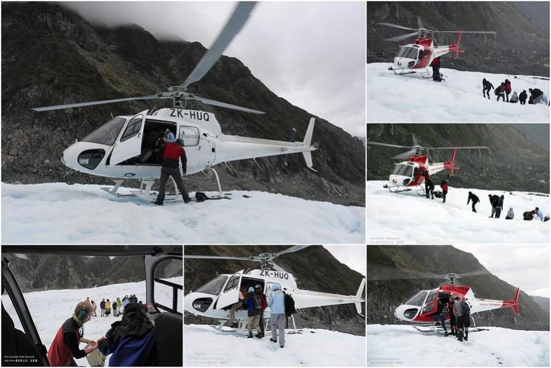 Fox Glacier helicopter landing