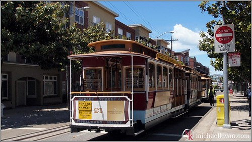 San Francisco - World Famous Cable Car