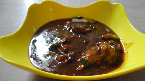 Chicken in Chilli and Black Bean Sauce
