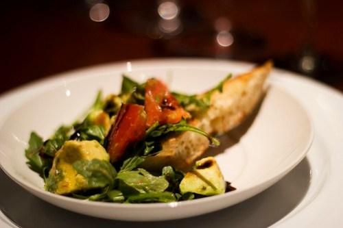 tomato & haas avocado salad