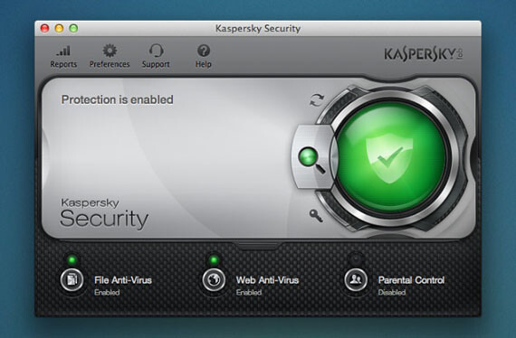 Kaspersky Security para Mac
