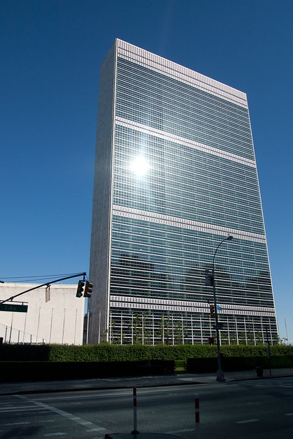 The United Nations. Photo by Ellen Brenna Dougherty