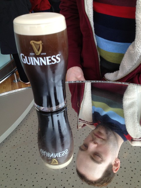 Kryan and his Guinness pint