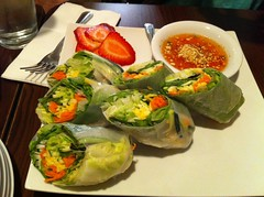 Fresh Spring Rolls at Sister Kitchen in Grover Beach
