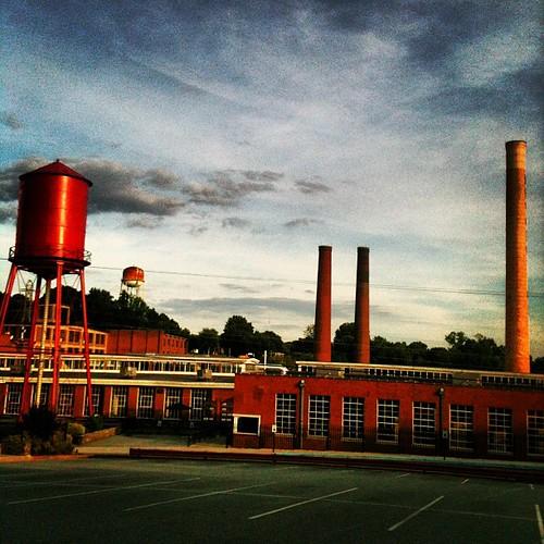Revolution Mill Studios by Greensboro NC