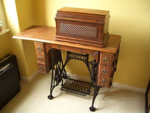 Victorian Singer Treadle Table