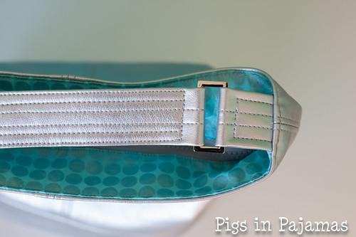 Swoon Bucket Bag hardware detail