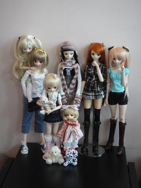 Doll Meet at Café Princess
