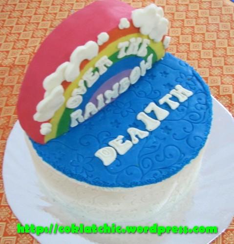 Cake Pelangi / Rainbow Cake