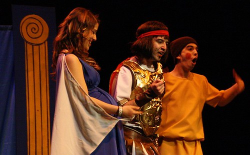 Alcmena, Anfitrión y Sosias