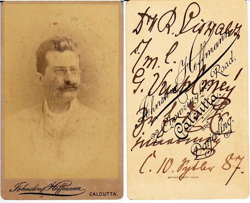 Unknown 1887 Calcutta