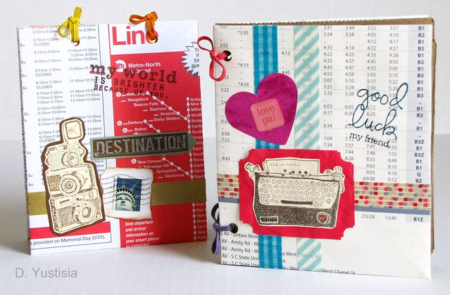DIY: Handmade Notebook from Recycle Materials
