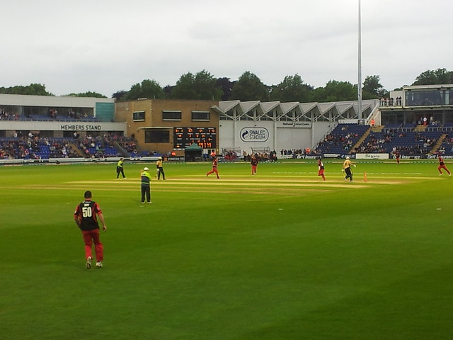 T20 Glamorgan  v Warwickshire at Swalec stadium