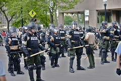 Police State NATO protests, May 20, 2012