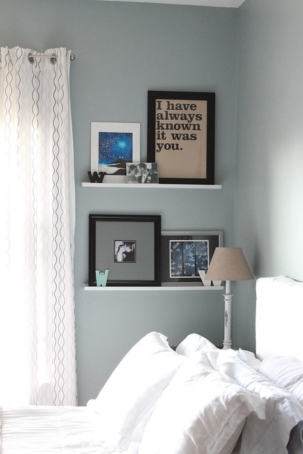 wall shelves in bedroom � decor adventures