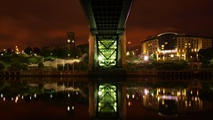 Under the Tyne Bridge