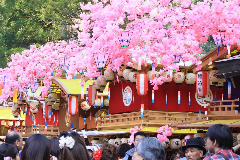 Yayoi festival, Nikko, Japan