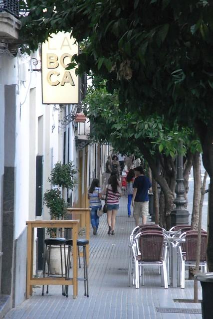 acera calle San Fernando.