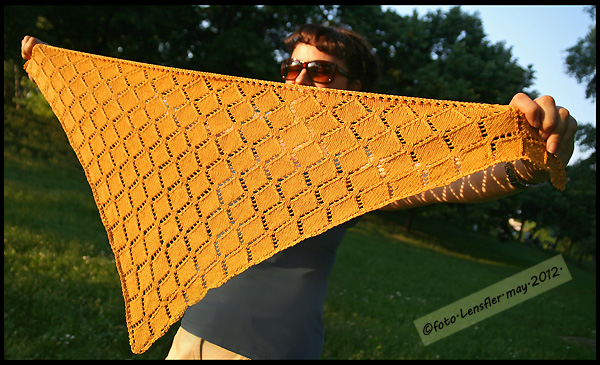 Romanda's shawl
