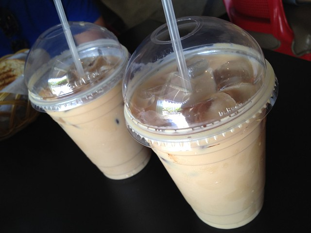 Iced lattes Cafe Cuatro Sombras