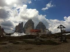 Drei Zinnen in den Sextener Dolomiten