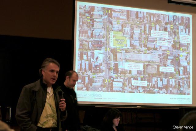 Wicker Park Trader Joe's development meeting