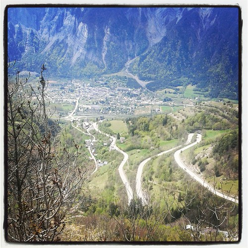 Bourg d'Oisans from Alpe d'Huez by MoreThan21Bends