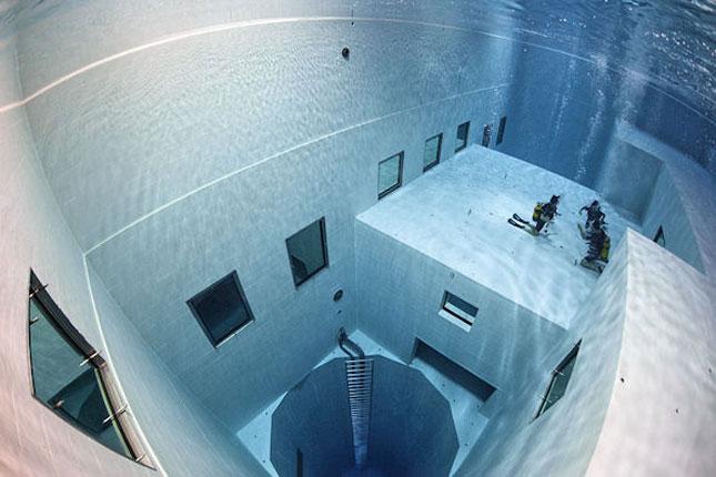 La piscine Nemo 33 Uccle, en Belgique.