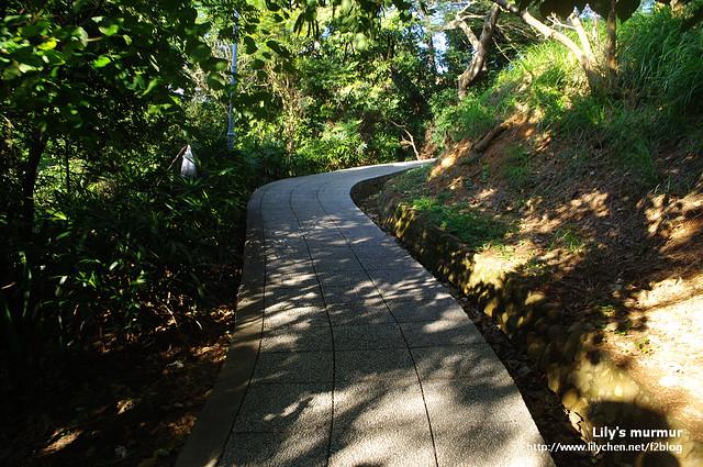 往八卦山的路上,其實整理的不錯,來這裡走走運動一下蠻好的。