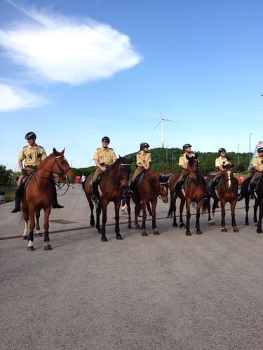 警官騎馬隊
