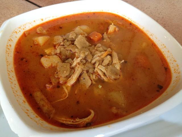 Sopa de tortilla - Chilango