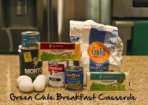 green chile breakfast casserole