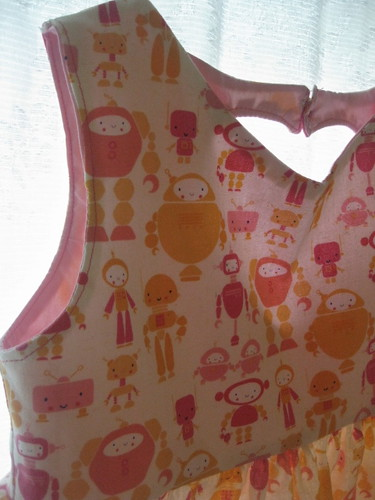 Cute Bot Sweetheart Dress
