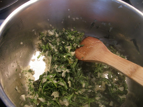 Nettles, Ground Elder, Onions, Garlic, Butter