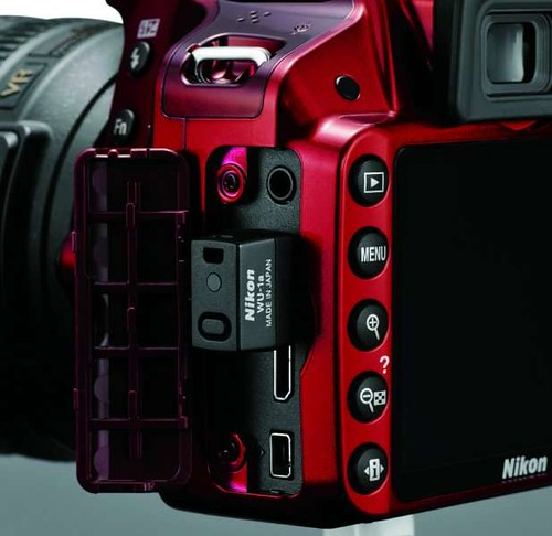 The Nikon D3200... A new standard in wireless connectivity.