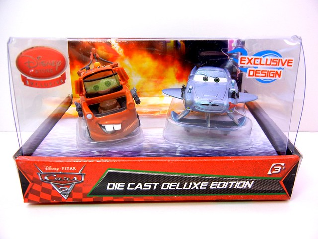 disney store UK cars 2 spy mater and finn mcmissle (1)