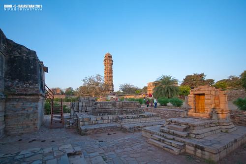The Vijay Stambh complex.