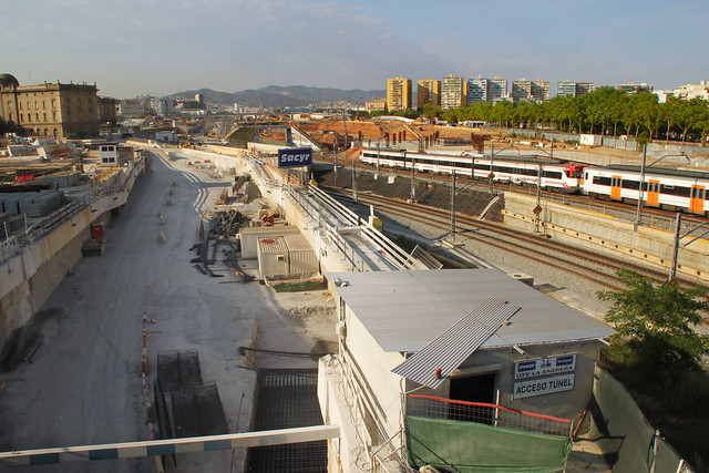 Zona tuneladora Barcino