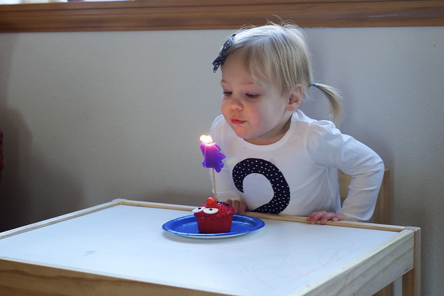 blow out the candle