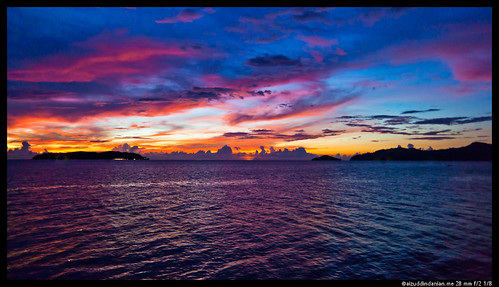 Sunset at Tanjung Aru