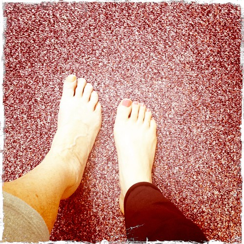 Identical feet, give or take 50 years
