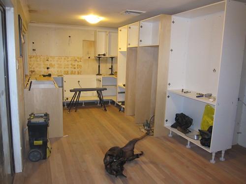 Kitchen installation Day 1