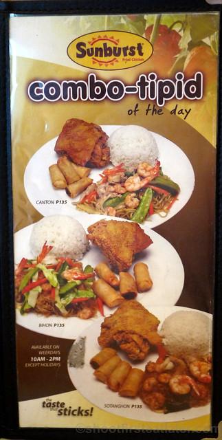 Sunburst Fried Chicken menu (Cebu)-001