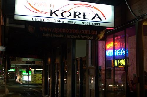 Open Korea