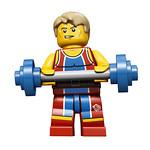 8909 Team GB Weightlifter