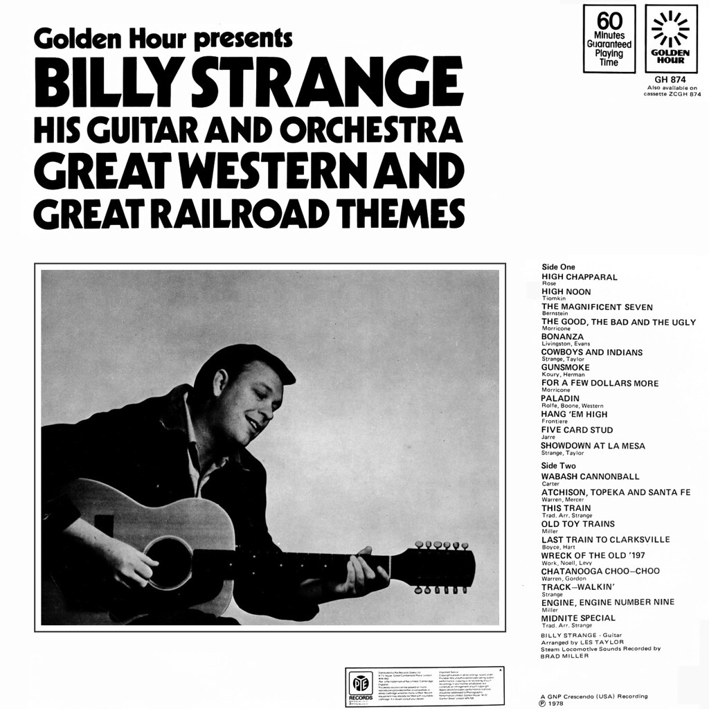 Billy Strange - Great Western and Great Railroad Themes