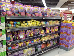 Plastic Easter Eggs, Cold Storage