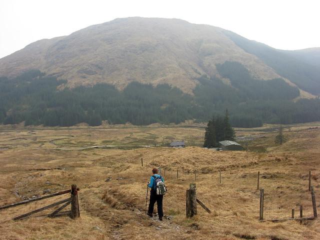 Retuning to Glen Dessary track